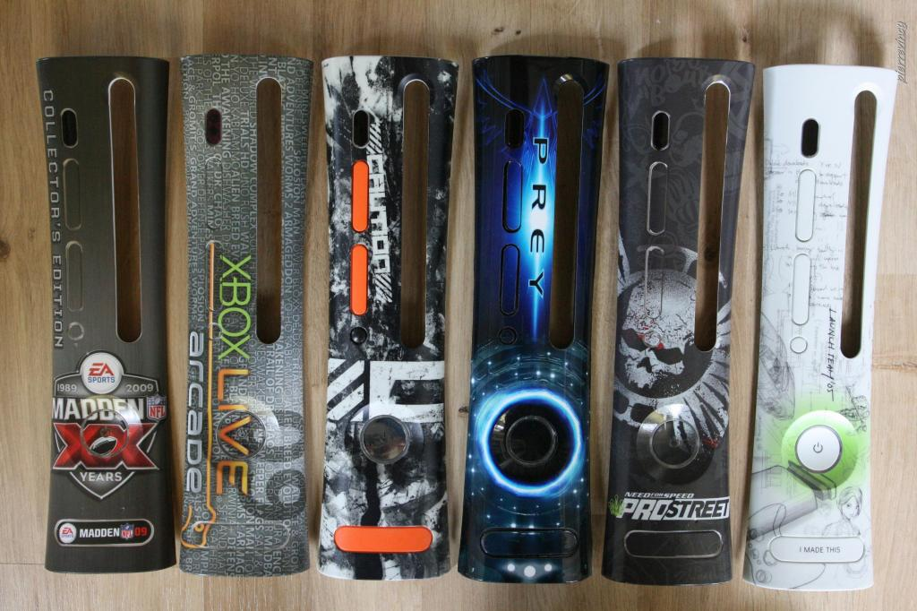 how to paint your xbox 360 faceplate