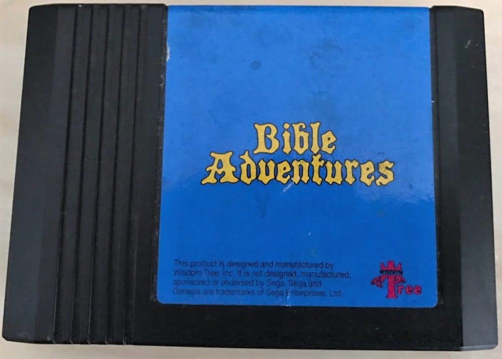 bible adventures sega genesis