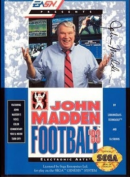 john madden football 93