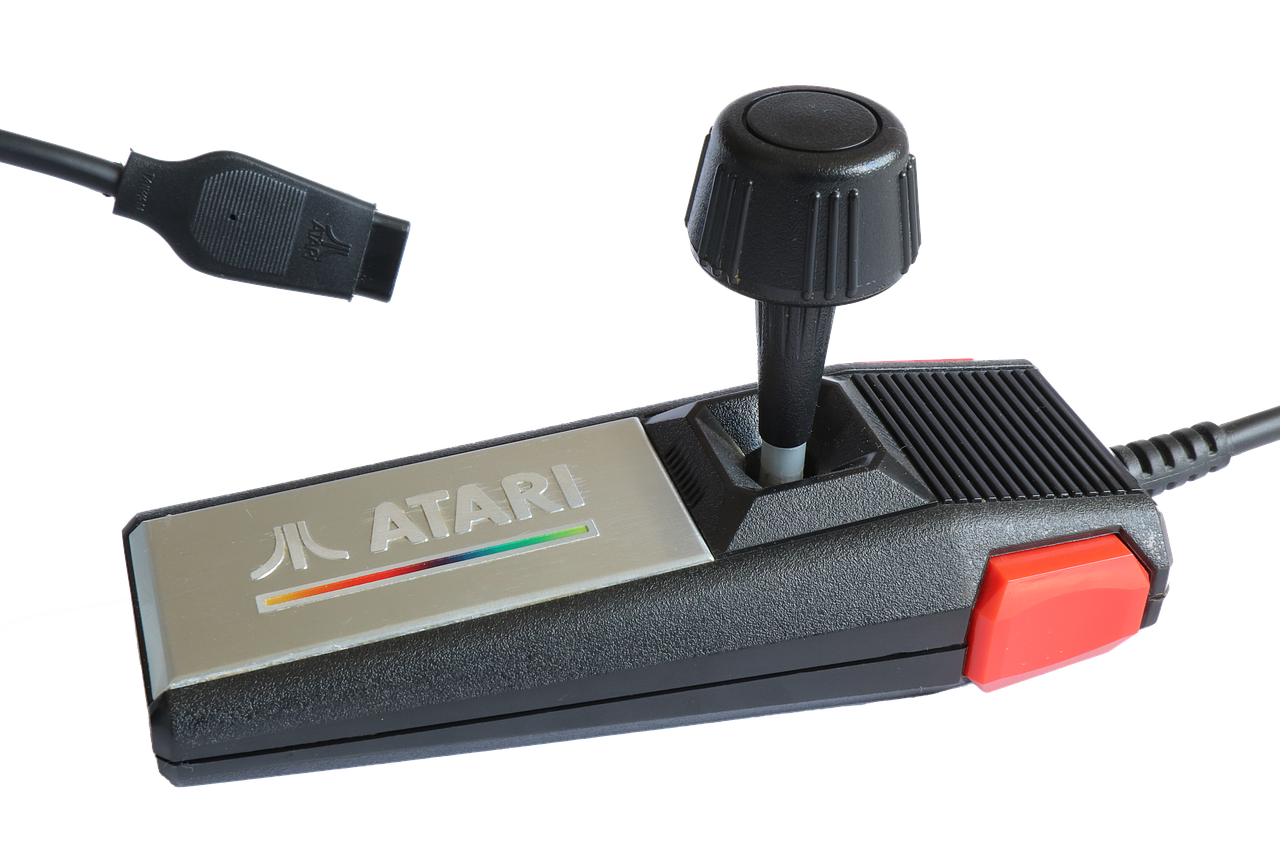 Controller joystick of an Atari